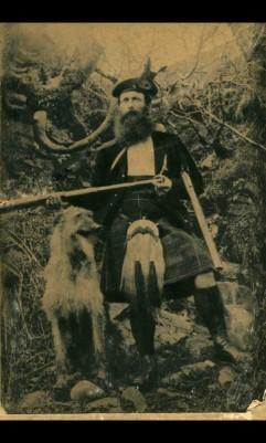 RG MacColl and Deerhound
