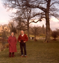 Bill and his Mum at Blair Drummond