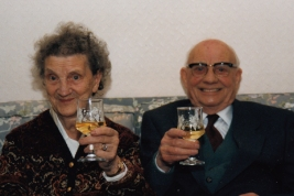 Bill's inlaws, Jack and Vera Edwards