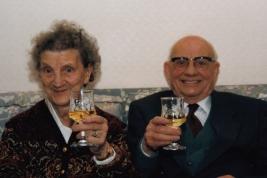 Bill's inlaws, Jack and Vera Edwards